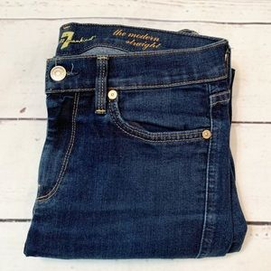 7 For All Mankind The Modern Straight Jean 28